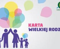 Karta Wielkiej Rodziny - Ostrołęka